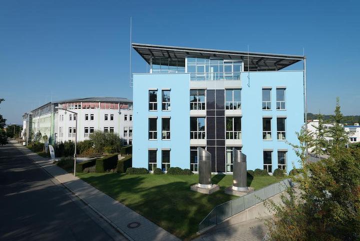 La sede del fabricante farmacéutico alemán Bionorica en Neumarkt (Baviera).