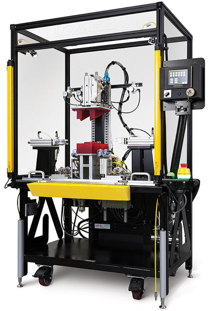 La HMI de Pro-face les permite a los operadores solucionar problemas de la máquina de Inovatech y monitorear cualquier problema de producción de piezas a través de pantallas de alarma.