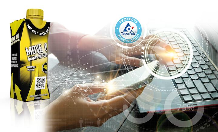 Aplicada en las cajas de leche y de jugos de Tetra Pak, la plataforma les otorga propiedades interactivas gracias a la integración en su fabricación de tecnologías de generación de códigos, impresión digital y gestión de datos.