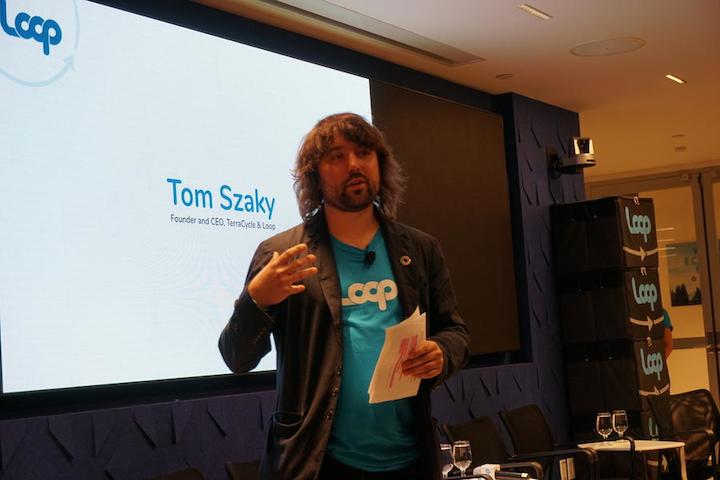 Tom Szaky anuncia el lanzamiento oficial del piloto de Loop en la región de Atlántico Medio en los Estados Unidos.