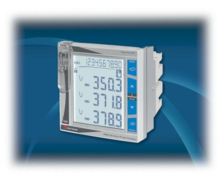 El WM20 es un analizador de potencia trifásico modular, clase 0.5S (kWh) que también sirve en sistemas mono y bifásicos.
