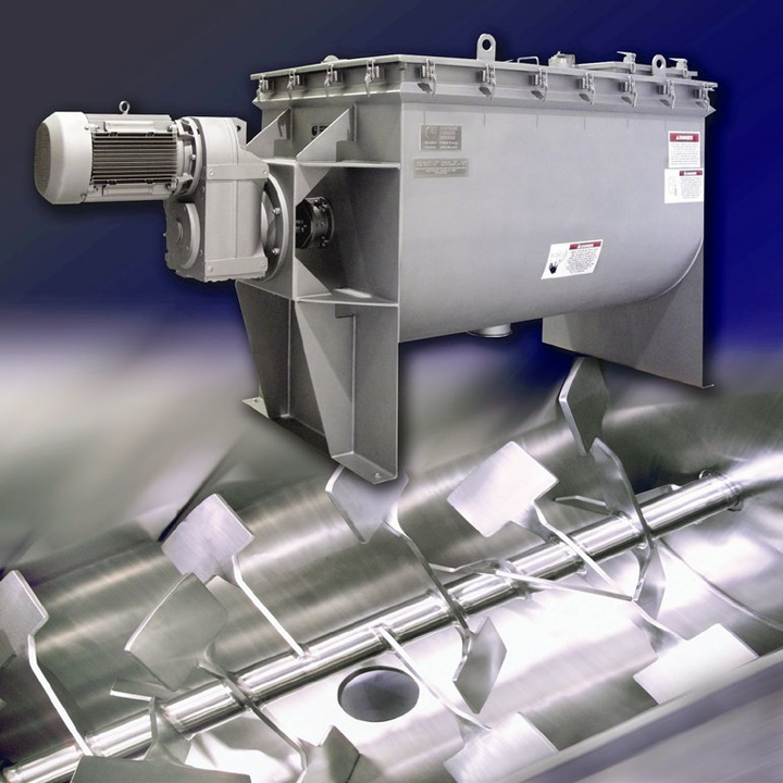Mezclador por fluidificación OptimaBlend™.