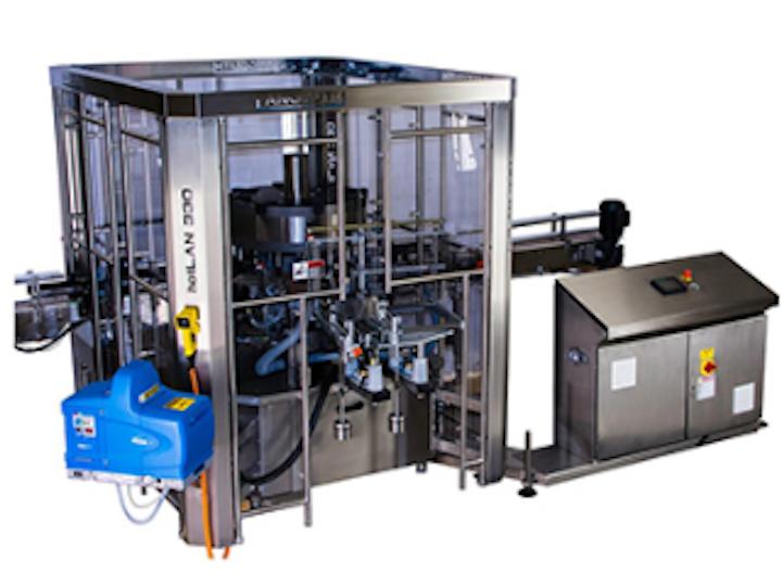 En la operación de este modelo, los tubos se alimentan a la máquina horizontalmente y no es necesario cambiar la posición durante el proceso.