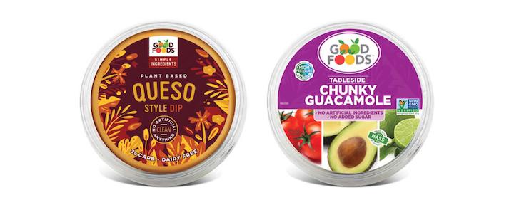 Estas salsas basadas en plantas de Good Foods han sido fabricadas utilizando el sistema de conservación de alimentos por alta presión, HPP, y son 100 por ciento veganas. Ellas tienen etiquetas blancas y proveen vida en anaquel extendida. Fotos cortesía de Good Foods.