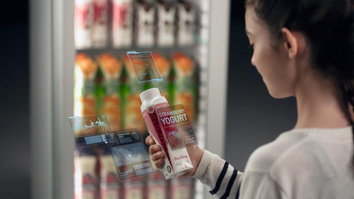 Uno de los componentes de la visión a corto plazo de Tetra Pak del futuro de la industria del envasado se centra en el lanzamiento de su plataforma de envases conectada.