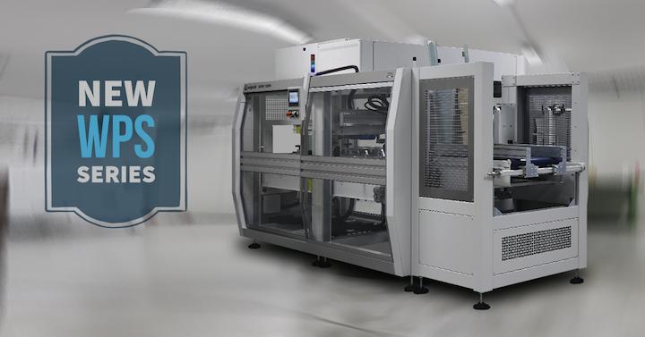 SMI Group ha desarrollado una máquina encartonadora wrap-around automática, modelo WPS, que presentará del 11 al 13 de junio en EXPO PACK Guadalajara 2019.