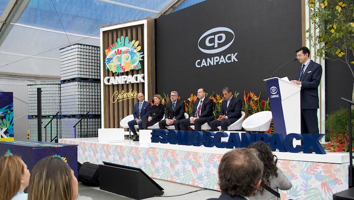 En Tocancipá, un municipio cercano a la capital colombiana, donde operan importantes empresas de la industria de bebidas, Canpack, el gigante polaco de fabricación de latas, tapas, botellas y empaques para alimentos abrió las puertas de una moderna planta de producción.