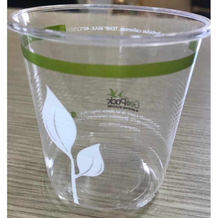 Vaso Ecologico Geopack 7 Onz X 25 Und Almidon De Maiz