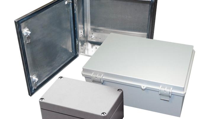 Cajas clasificadas por NEMA, sigla de la Asociación Nacional de Fabricantes Eléctricos.