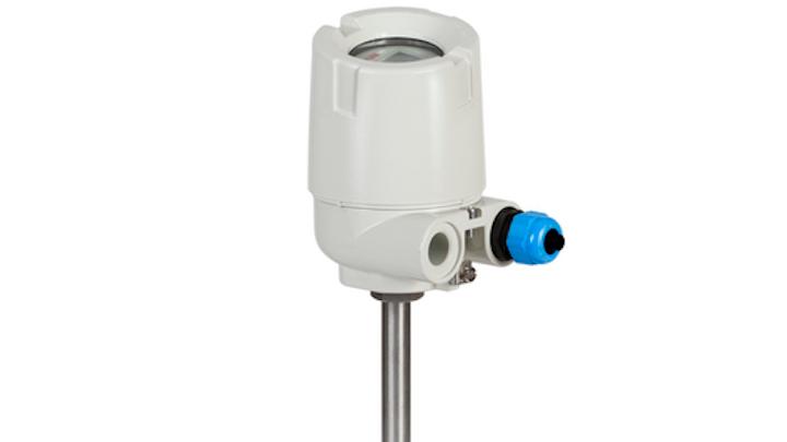 Un sensor primario está ubicado lo más cerca posible de la superficie de la tubería y un sensor secundario está a una distancia de la superficie de la tubería y sirve como sensor de referencia. Fuente: ABB.