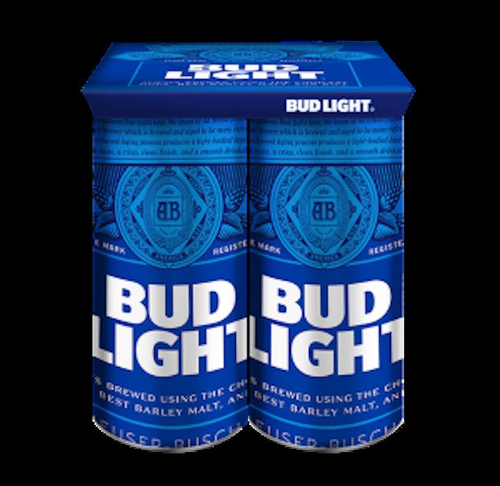 Bud Light 4 Pack Keel Clip 595 300x292