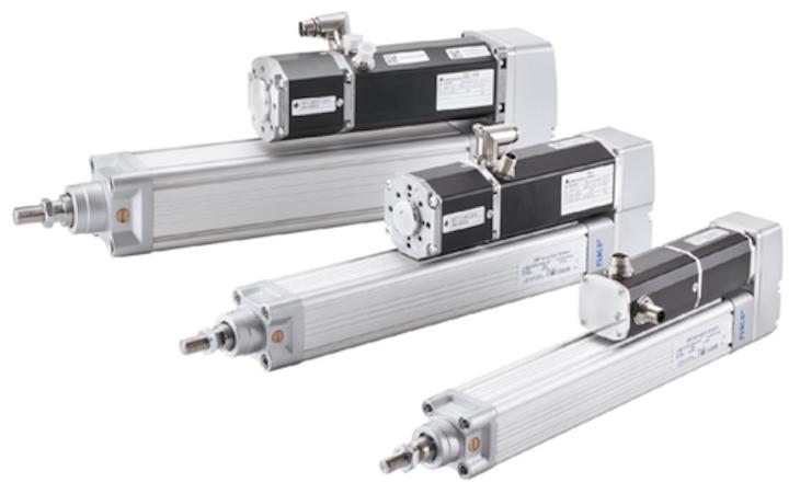 Actuadores electromecánicos CASM de Ewellix USA (anteriormente SKF Motion Technologies).