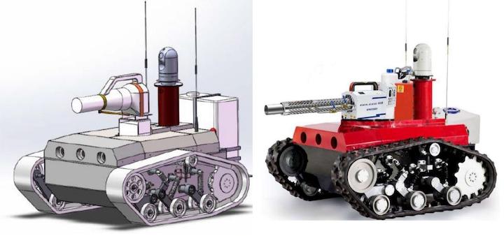 Robot de desinfección: del diseño a la producción de muestras en solo una semana.