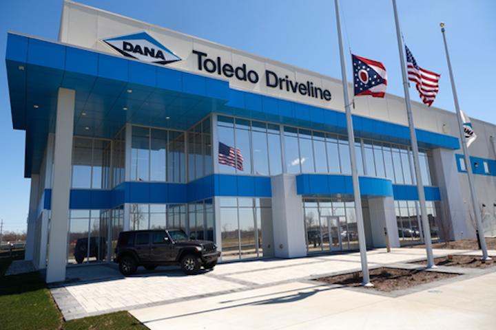 Instalaciones Toledo Driveline de Dana Inc.