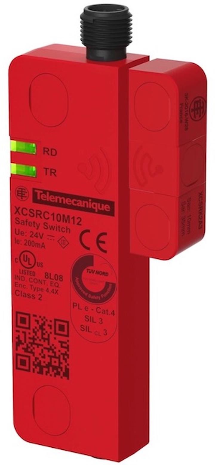Sensor XCSR de Telemecanique Sensors.
