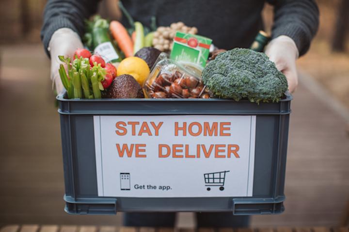 A principios de abril, el pedido de comestibles en línea seguía aumentando, con el 51% de los compradores haciendo un pedido en las cuatro semanas que terminaron el 7 de abril.