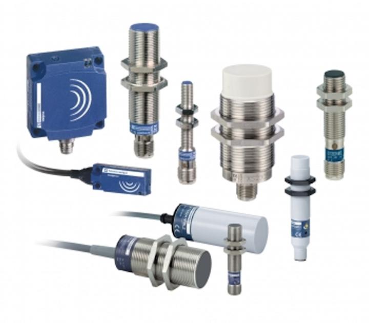 Sensores inductivos y capacitivos de Telemecanique Sensors
