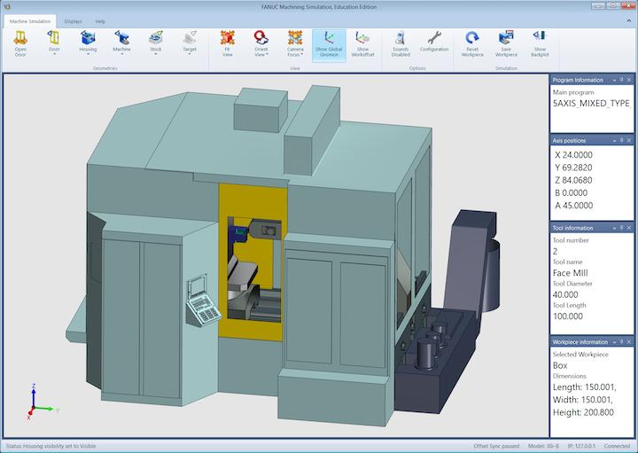Simulación de Mecanizado CNC para Desarrollo de la Fuerza de Trabajo