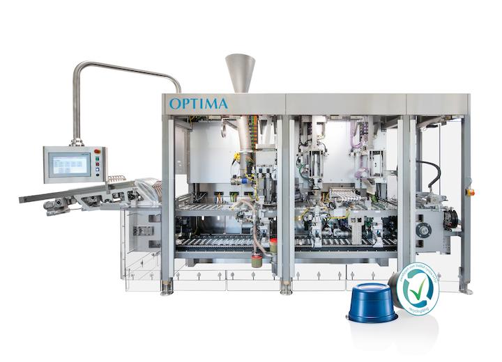OPTIMA, Wipf y säntis packaging han unido fuerzas y desarrollado el sistema de cápsulas para café ecológicas 'GreenLution'.