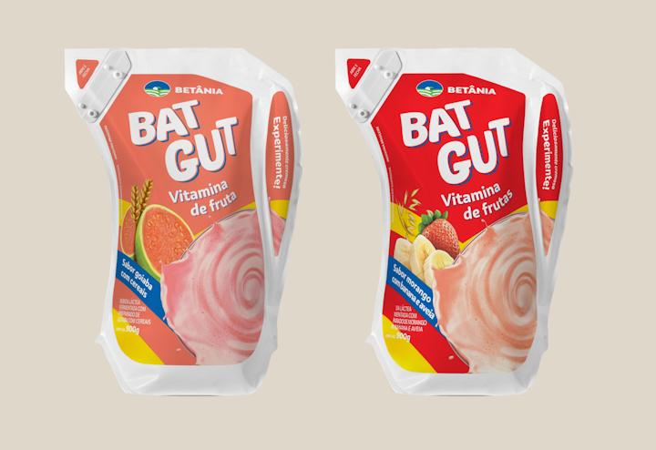 Los nuevos envases de Bat Gut ofrecen una característica única de cierre, el SnapQuick™, un dispositivo de re-cierre muy conveniente, que complementa y mejora la experiencia de uso del empaque. A diferencia de muchos otros dispositivos de este tipo, SnapQuick ™ es liviano y constituye una parte integral e inteligente del empaque.