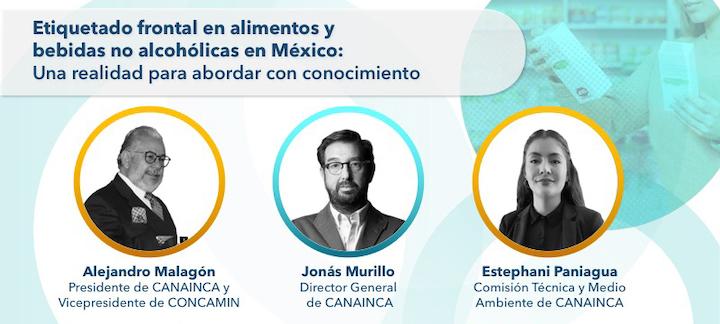 Webinar Presentación Canainca Expo Pack Banner