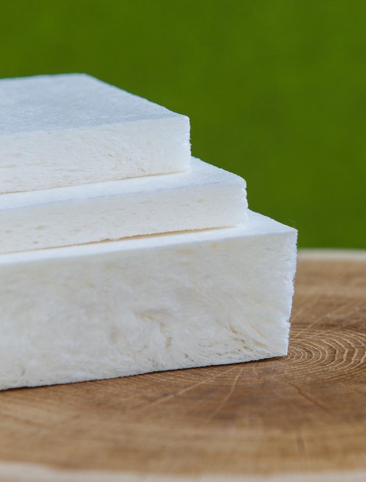 La primera aplicación de esta espuma de base biológica será para el empaque de protección de productos delicados como los de la industria de electrónica.