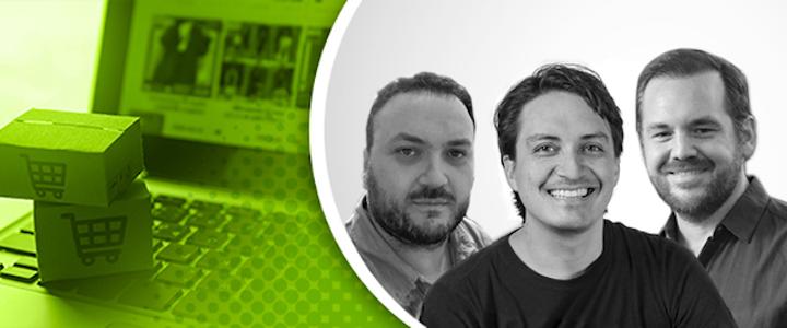 Silvio Colombo, director de Teckdes (izquierda); David Freyre, socio fundador de ImasD (centro); y Guillermo Dufranc, gerente de proyectos de Tridimage, (derecha), fueron los panelistas en este webinar de EXPO PACK México y Mundo PMMI.