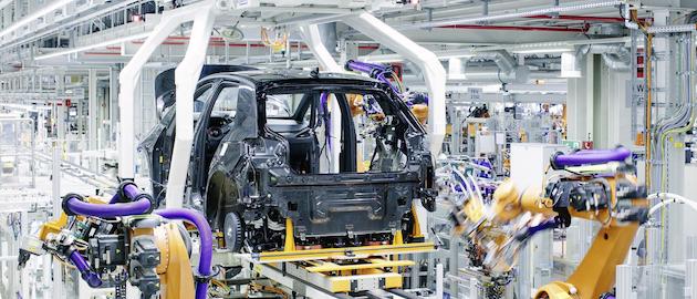 Operaciones de producción en Volkswagen
