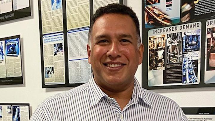 Leswin Canales, nuevo gerente de ventas para Suramérica de BluePrint Automation.
