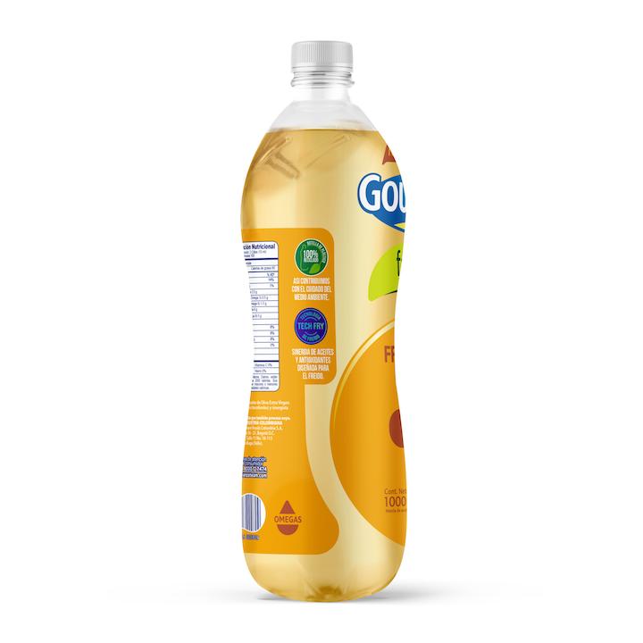 En Colombia, la botella de este aceite es la primera que se fabrica en su totalidad con plástico reciclable, convirtiendo a la marca en pionera en la industria y en líder en la creación de soluciones de empaque sustentables para aceites de este tipo.